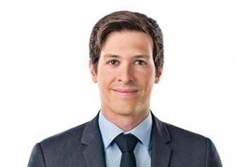 Direction du Mouvement lavallois Stéphane Boyer candidat à la mairie pour le parti du maire sortant Marc Demers)