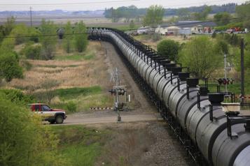 Recul de 40% des exportations de brut par rail en 2020 )