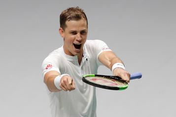 Coupe Davis: Vasek Pospisil crée la surprise