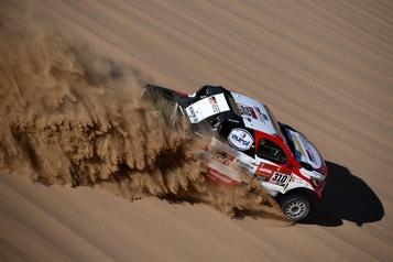 Dakar-2020: Alonso perd une roue et plus de deux heures