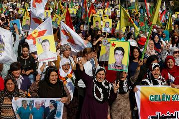 Erdogan prendra les «mesures nécessaires» si les forces kurdes restent