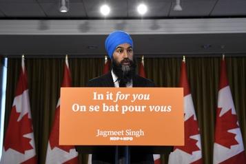 Jagmeet Singh: «Nous n'allons pas laisser tomber les Québécois»