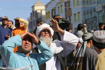 Retour de la pendaison publique en Afghanistan)