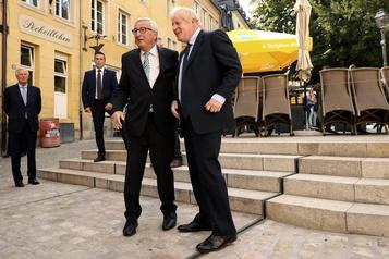 Brexit: Johnson «prudent» avant sa rencontre avec Juncker et Barnier