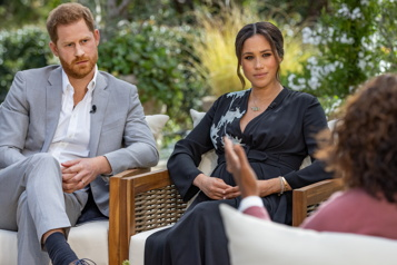 L'entrevue du prince Harry et de Meghan diffusée dimanche soir)
