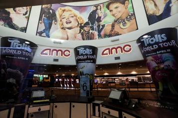 La chaîne de cinémas AMC a levé près d'un milliard, pas de faillite à court terme)