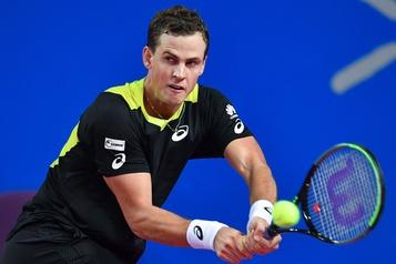 Vasek Pospisil franchit avec succès le premier tour en France
