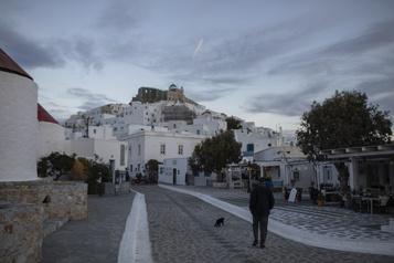 Grèce: vers un parc automobile tout électrique Volkswagen sur une île touristique)