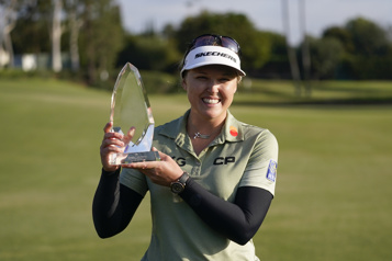 La Canadienne Brooke M. Henderson remporte l'Omnium de Los Angeles)