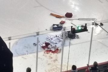 OHL: le gardien Tucker Tynan opéré avec succès après avoir été gravement coupé