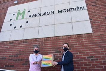 150 masques pour Moisson Montréal)