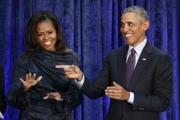 Convention démocrate: les Obama en tête d'affiche avec les Biden)