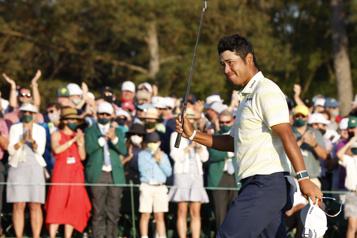 Hideki Matsuyama remporte le Tournoi des Maîtres)