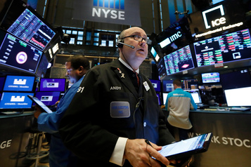 À Wall Street le Dow Jones à un record après l'accord Chine-États-Unis