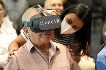La réalité virtuelle au secours des aînés)
