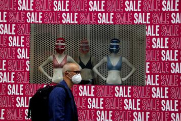 Angleterre: le port du masque obligatoire dans les magasins dès le 24juillet)