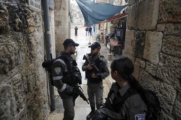 Un Palestinien armé d'un couteau tué à Jérusalem