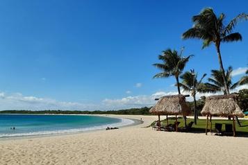 Les Fidji proposent une «bulle» touristique sans virus)