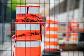 Mobilité à Montréal Les grands donneurs d'ouvrage promettent moins de cônes orange)