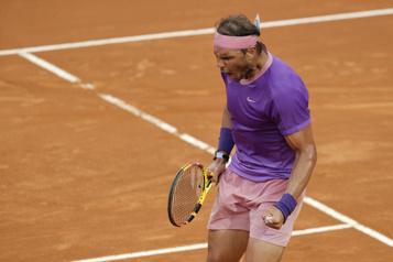 Rafael Nadal sacré champion pour la 10efois à Rome)