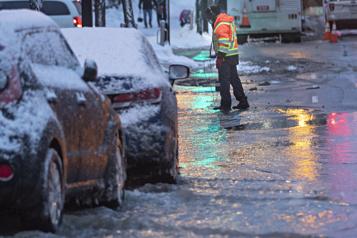 Bris d'une conduite d'eau Avis d'ébullition dans l'arrondissement de Ville-Marie)