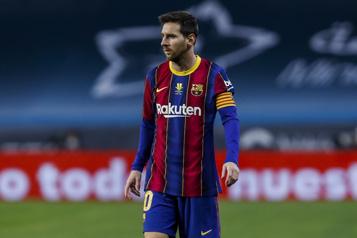 Lionel Messi suspendu pour deux matchs)