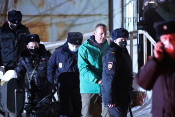Russie Menaces et arrestations avant les manifestations pour Navalny)