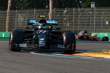 Grand Prix d'Émilie-Romagne Valtteri Bottas décroche la pole à Imola)