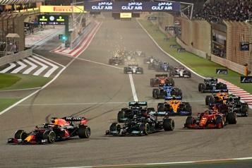 La F1 adopte une course sprint pour trois Grands Prix)