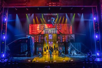 Le Cirque du Soleil met fin à R.U.N après quatre mois