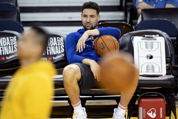 Warriors Blessé, Klay Thompson devra s'absenter pour une deuxième saison de suite)