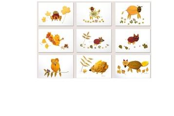 La bonne idée Des animaux en feuilles d'automne)