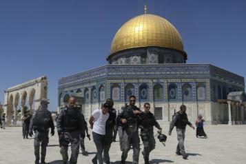 Heurts à Jérusalem-Est Dix Palestiniens arrêtés sur l'esplanade des Mosquées)