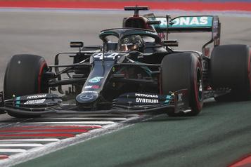 Grand Prix de Russie Hamilton obtient sa 96epole en carrière, Stroll 13e)