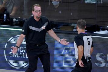 Raptors: Nick Nurse en lice pour l'entraîneur de l'année)