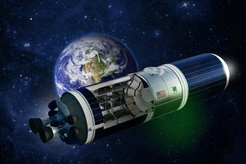 Espace Des stations spatiales dansdesfusées)