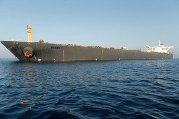 Washington annonce avoir émis un mandat pour saisir le pétrolier iranien Grace 1