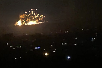 Frappes israéliennes en Syrie: plus de 20 combattants tués