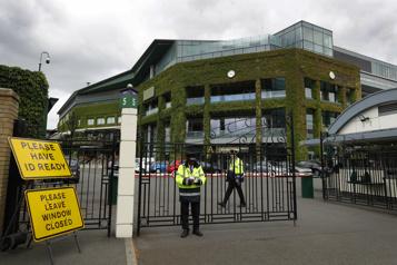 Des matchs le dimanche à Wimbledon dès 2022)