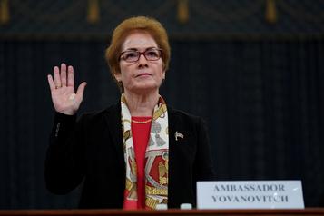 Destitution de Trump: témoignage crucial d'une ex-ambassadrice à Kiev
