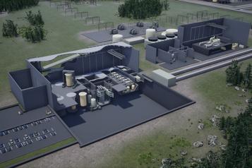 Ottawa reporte son plan sur les petits réacteurs nucléaires)