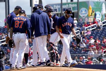 Les Astros espèrent pouvoir tourner la page sur le scandale)