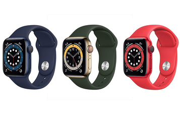 Apple Watch Series 6 Couleurs, oxygène et bracelet sans attache)