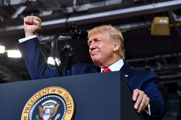 Trump évoque de «grosses sanctions» imminentes contre la Turquie
