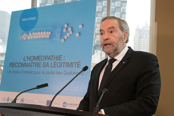 Thomas Mulcair à la défense de l'homéopathie