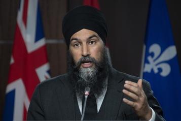 Sommet climatique de Washington  La cible canadienne devrait être de 50%, estime Jagmeet Singh)