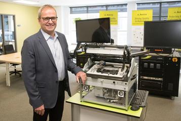 François Rainville, PDG d'Averna: «Notre objectif est de bâtir un géant mondial des tests»