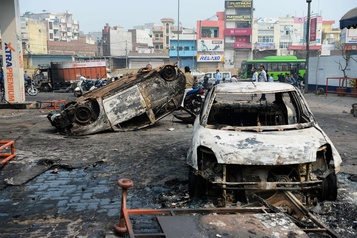 Inde: 17 morts dans les violences intercommunautaires à New Delhi