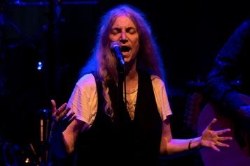 Patti Smith chante a capella pour le président argentin
