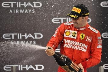 F1: Leclerc prolonge de 2 ans avec Ferrari, jusqu'en 2024